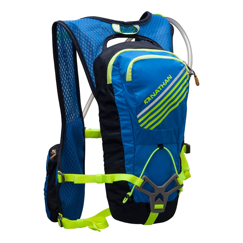 Nathan Grit 2L Hydration Race Vest - Electric Blue