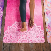 YOGA DESIGN LAB TRAVEL MAT 1.0MM - MANDALA ROSE