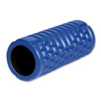 PRO-TEC HOLLOW CORE CONTOURED FOAM ROLLER - BLUE/BLACK