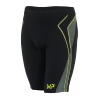 MICHAEL PHELPS MEN LEYO JAMMER - BLACK/BRIGHT GREEN