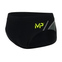 MICHAEL PHELPS MEN MANU BRIEF - BLACK/GREY