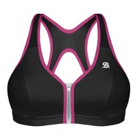 SHOCK ABSORBER ACTIVE MULTI SPORT ZIPPED SPORTS BRA