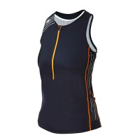 BLUESEVENTY WOMEN TX2000 TRI SINGLET - Black