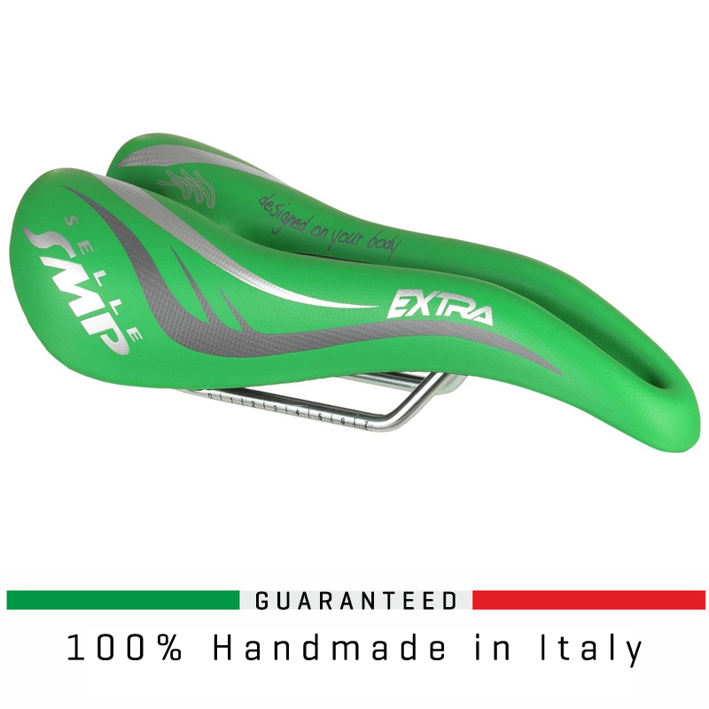 SELLE SMP UNISEX EXTRA SADDLE - GREEN ITALY