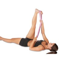 PRO-TEC STRETCH BAND - Grip Loop Technology (warm up for pre-dance, run & other active workouts)