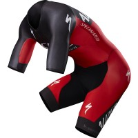 SPECIALIZED MEN S-WORKS EVADE TT SKINSUIT - RED/BLACK TEAM
