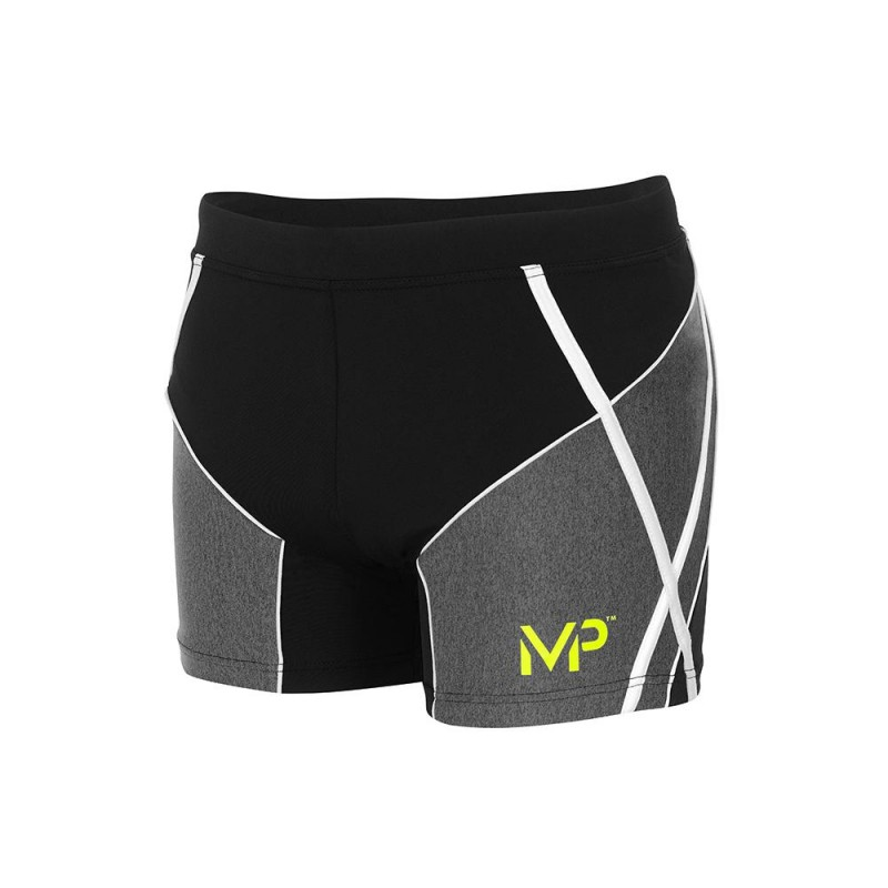 MICHAEL PHELPS MEN SWIFT TRUNK - BLACK/GREY