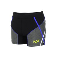 MICHAEL PHELPS MEN SWIFT TRUNK - BLACK/ROYAL BLUE