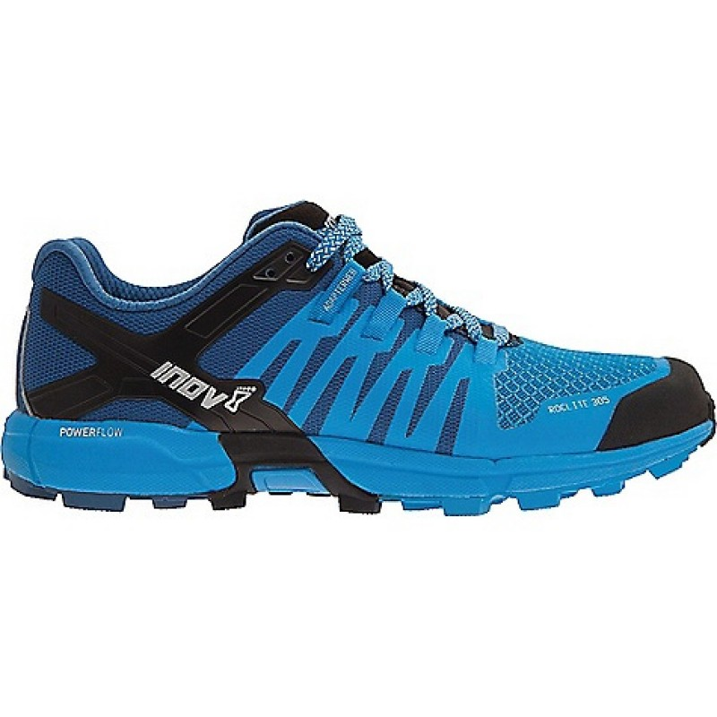 INOV-8 MEN ROCLITE 305 TRAIL SHOES - Blue/Dark Blue/Black