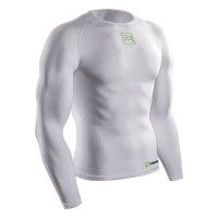 COMPRESSPORT UNISEX 3D Thermo Ultralight LS Shirt Racket - White