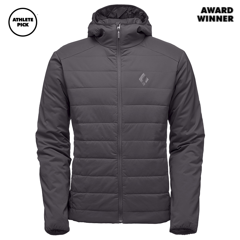 Black Diamond Men First Light Hoody - Smoke