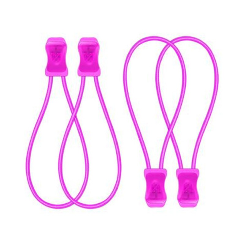 SnapLaces No-Tie Performance Laces - Pink