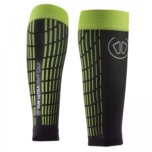 SIDAS ULTRALIGHT RUN CALF COMPRESSION AND RECOVERY SLEEVE - YELLOW