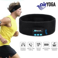 AIR YOGA - AIRBAND HEADBAND WITH WIRELESS HEADSET EARPHONE STEREO HANDFREE FOR FITNESS EXERCISE