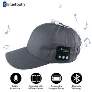 AIRFIT BLUETOOTH WIRELESS CAP WITH BUILT-IN SPEAKER + MICROPHONE