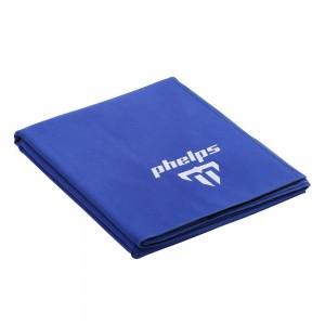 MICHAEL PHELPS MICROFIBRE TOWEL - BLUE / BLUE