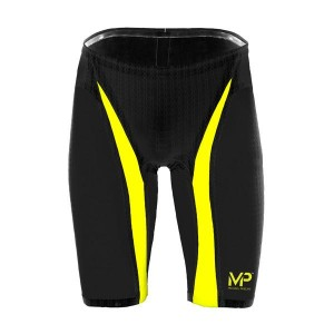 MICHAEL PHELPS XPRESSO COMPETITION TECH SUIT JAMMER - BLACK YELLOW